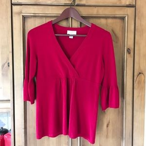 Ann Taylor Loft Bell Sleeve Sweater MP A-1